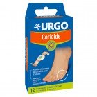 URGO DRESSINGS CORICIDE - HORNS - EYE OF PARTRIDGE - CALLUSES - BOX OF 12