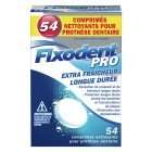 FIXODENT PRO COOL LONG DURATION 54 TABLETS CLEANERS